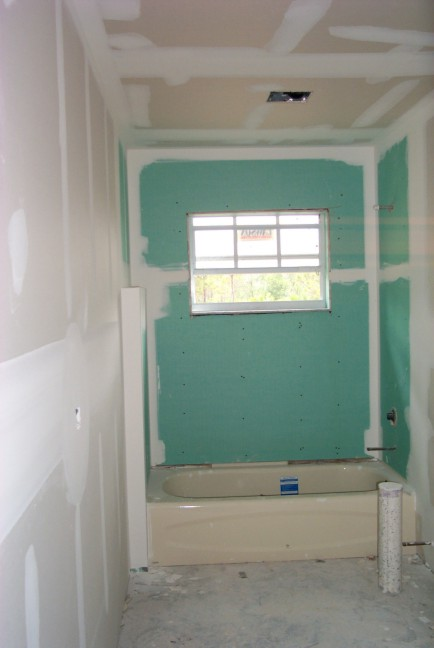 What sheetrock to use in bathroom 28 images drywall for Drywall or cement board for shower